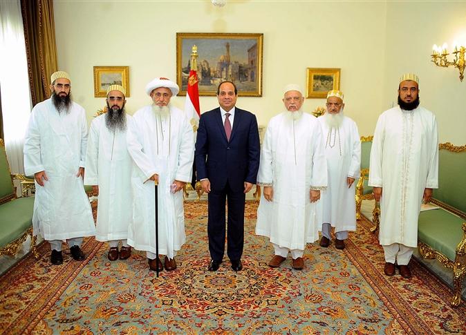 C'est la deuxième visite des Bohras au président égyptien