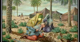 Le nourisson de l'imam Hussein