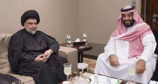 moqtada al sadr avec mohammad ben salman