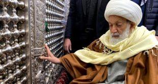 Sheikh Issa Qassim à Karbala