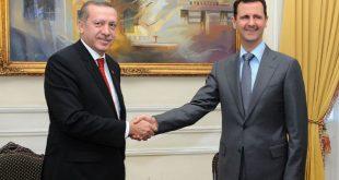 Photo de Erdogan avec Al-Assad