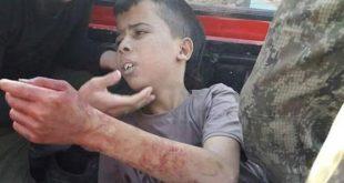 enfant décapité par rebelles syriens de Nourredine Zenki