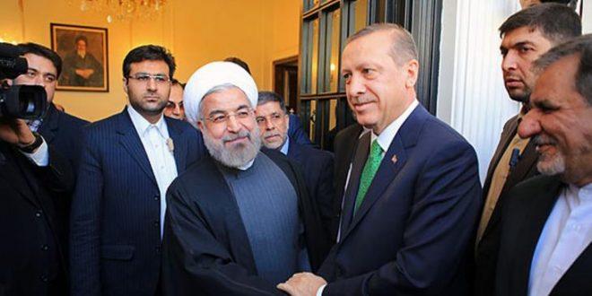 Erdogan avec Rohani