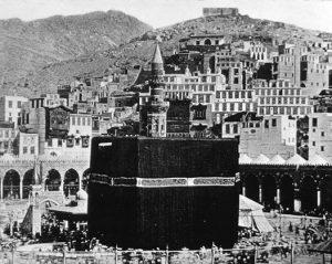 La Mecque en 1950.