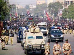 Muharram dans les rues du Pakistan
